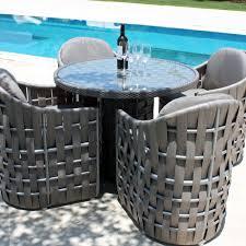 Skyline Design Strips Dining Chair Cat B Fabric Houseology - Skyline outdoor furniture