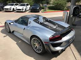 porsche supercar 918 want to buy a 10k mile porsche 918 spyder for 1 4 million the