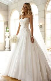 strapless wedding dress new custom a line white strapless wedding dress bridal gown