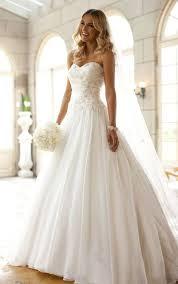 strapless wedding dresses new custom a line white strapless wedding dress bridal gown