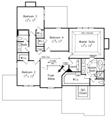 Floor Plans Com by Craftsman Style House Plan 4 Beds 2 5 Baths 2443 Sq Ft Plan 927