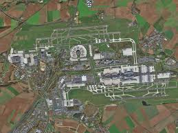 Cdg Airport Map The World U0027s 15 Busiest Airports On Satellite Images Geoawesomeness