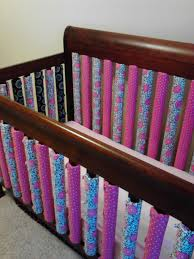 Mini Crib Bumper Pads by Handmade Vertical Crib Bumpers From Www Facebook Com