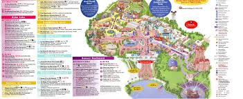 Universal Studios Map Orlando by Theme Park Brochures Disney U0027s Hollywood Studios Theme Park Brochures