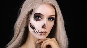 Youtube Halloween Makeup by Faded Half Skull Glam Halloween Makeup Tutorial Youtube