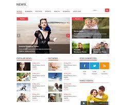 design magazine site 28 amazing psd magazine website templates web graphic design