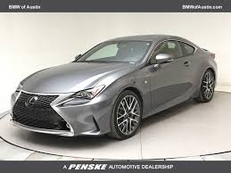 lexus rc 350 2015 used lexus rc 350 2dr coupe rwd at bmw of austin serving