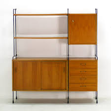 Omnia Furniture Omnia Walnut Shelving System From Hilker 1960s For Sale At Pamono