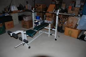 Competitor Workout Bench Wts Olympic Weights Bars Bench Power Rack
