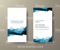 Abstract Business Cards Set Of Light Vertical Abstract Business Cards With Mosaic Stock