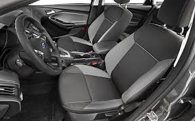 New Focus Interior 2012 Ford Focus Sfe First Test Motor Trend