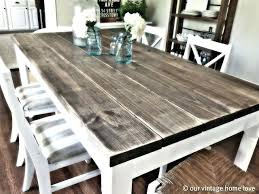 Learn Bench Dining Table Build A Wood Dining Room Table Make My Own Learn