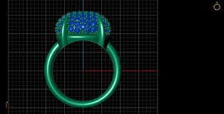 pave 3d models 3d pave 3d pave setting ring cgtrader