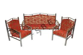 Stainless Steel Sofa Set View Specifications  Details Of - Steel sofa designs