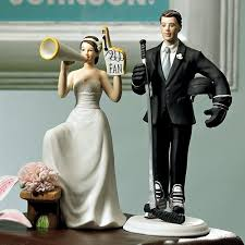 and groom cake toppers his fan and groom cake topper weddingstar