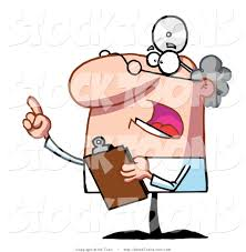 stock cartoon of a bossy male senior doctor by hit toon 128