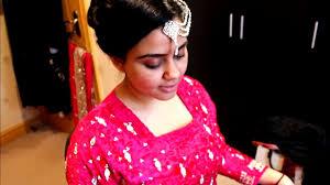 bridal hairstyle pics asian pakistani indian bridal hair tutorial wedding hairstyle