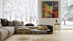 Beige Living Room by Living Room Concrete Living Room Features Michael Jackson Pop Art
