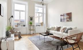 how to decorate walls in scandinavian style living room wall