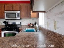 kitchen backsplash paint faux tile backsplash with paint hometalk