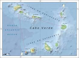Cabo Map Cabo Verde