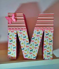 home decor handmade letra de cartón prensado tuneada homedecor handmade decoracion