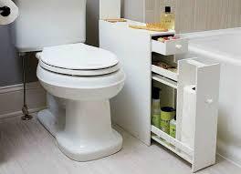 Narrow Cabinet Bathroom by Narrow Bathroom Cabinet Bathroom Storage Ideas 10 Tricks Bob