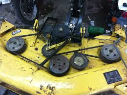 john deere lawn mower blade for g100 series with 54 deck john