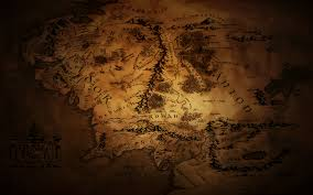 Lord Of The Rings World Map by Middle Earth Map Wallpaper 2 By Johnnyslowhand On Deviantart