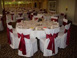 table and chair cover rentals chair cover rentals in detroit flint mi affairs to remember