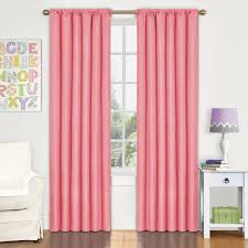 Coral Blackout Curtains Rugs Curtains Wonderful Panel Coral Blackout Curtains