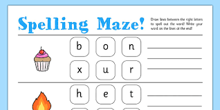 spelling maze worksheets maze spelling worksheets cvc