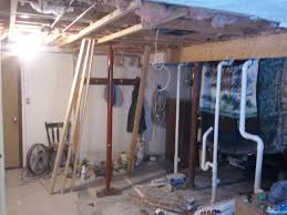 i removed this non load bearing wall in the corner of my basement