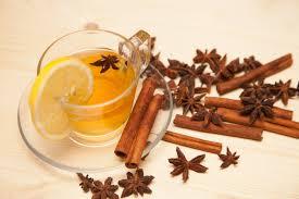 Teh Adas gambar teh aroma herba menghasilkan minum lemon kayu manis