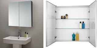Mirrored Bathroom Cabinets Top 10 Best Bathroom Mirror Cabinets Single And
