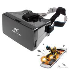 online cheap head mount plastic vr virtual reality 3d video