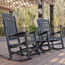 Polywood Outdoor Furniture Reviews by Furniture Club Rocking Chair By Trex Outdoor Furniture In Grey