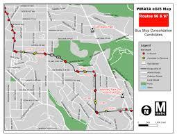 Washington Dc Bus Map planitmetro improving bus service with u0027less stop more go u0027