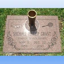 Cemetery Vases Bronze Flat Grave Markers
