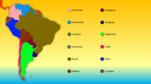 South America Map Countries by World Series Countries Of South America Youtube