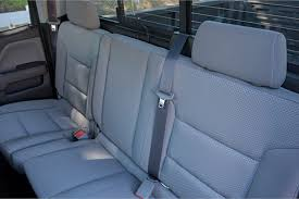 Fold Down Bench Seat The Rear Seats Are A 60 40 Fold Down Bench Chevrolet U0027s 2017