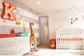 Circus Crib Bedding Baby Nursery Amusing Image Of Baby Nursery Room Decoration Design