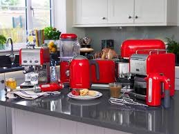 Kenwood Kettle And Toaster Kenwood Bundle Kmix Red Breakfast Set Kettle Sjm040rd And