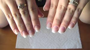 adding length to your natural nail using tip extensions and gel