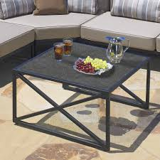 Mid Century Modern Furniture Milwaukee by Trendy Black Iron Base Frames Square Stone Coffee Table With