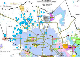 map of houston area map homes in houston area that self reported