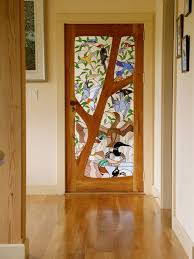 Ideas For Sliding Glass Doors by Best 25 Stained Glass Door Ideas On Pinterest Home Door Design