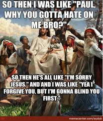 Jesus Memes - story time white jesus christian meme christian meme