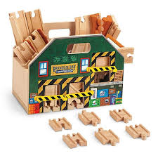 carousel train table set thomas friends wooden railway store and play carry case bln06