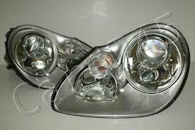 porsche cayenne 9pa 2003 2006 bi xenon headlights front lamps